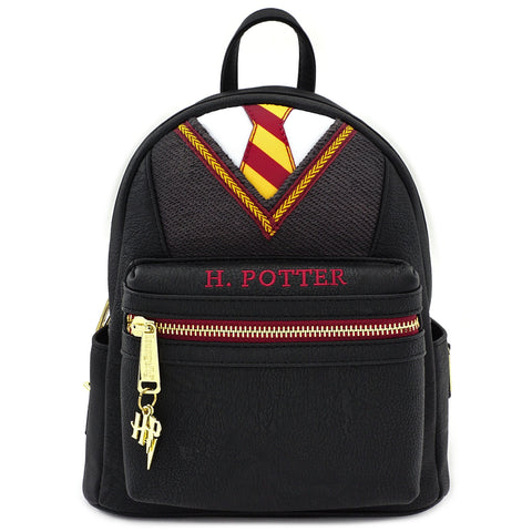 LOUNGEFLY X HARRY POTTER COSPLAY SUIT AND TIE MINI PU BACKPACK
