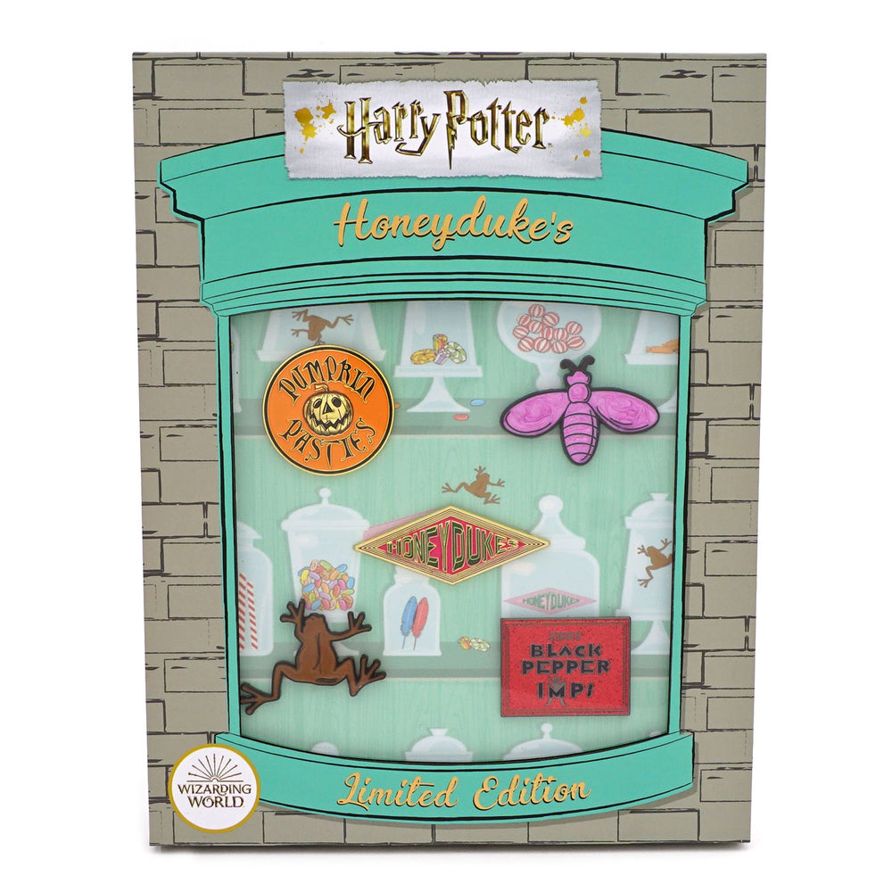 LOUNGEFLY X HARRY POTTER HONEYDUKES LIMITED EDITION PIN COLLECTOR SET-zoom