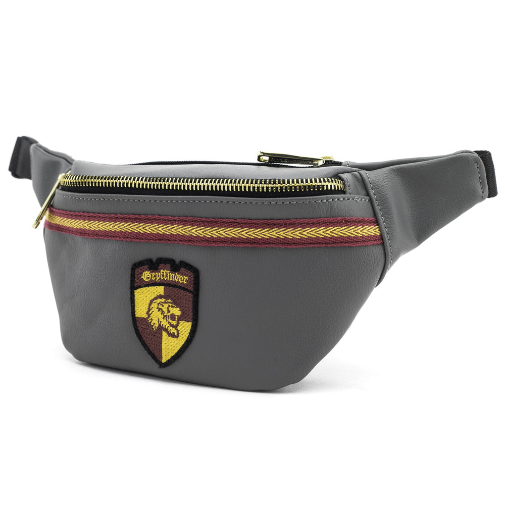 Loungefly x Harry Potter Grey Gryffindor Crest Fanny Pack-zoom