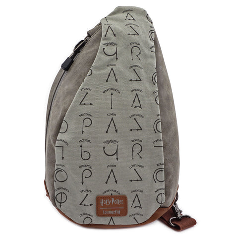 Loungefly x Harry Potter Spells Sling Bag