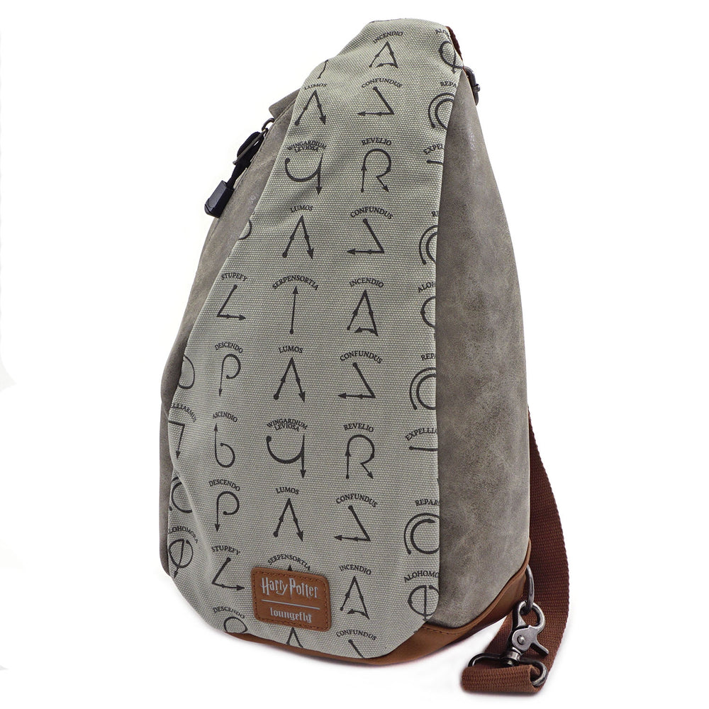Loungefly x Harry Potter Spells Sling Bag-zoom