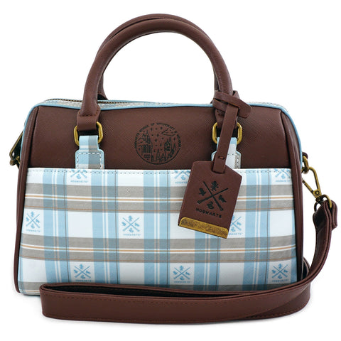 Loungefly x Harry Potter Hogwarts Plaid Crossbody Bag