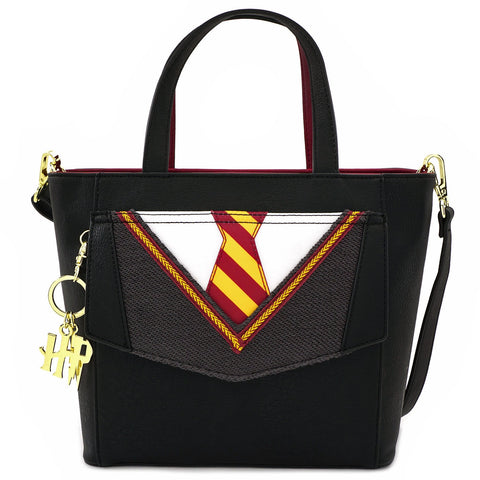 LOUNGEFLY X HARRY POTTER COSPLAY SUIT AND TIE CROSSBODY BAG