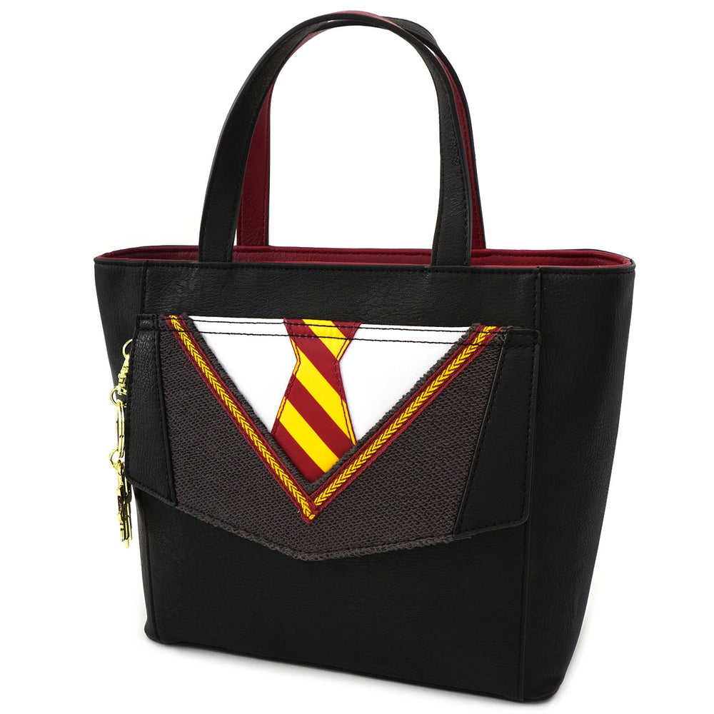 LOUNGEFLY X HARRY POTTER COSPLAY SUIT AND TIE CROSSBODY BAG-zoom
