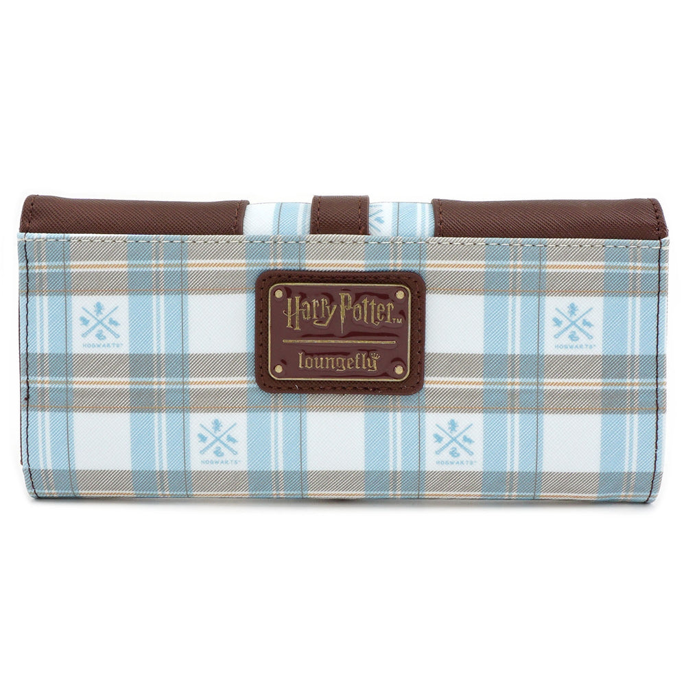 Loungefly x Harry Potter Hogwarts Plaid Flap Wallet-zoom