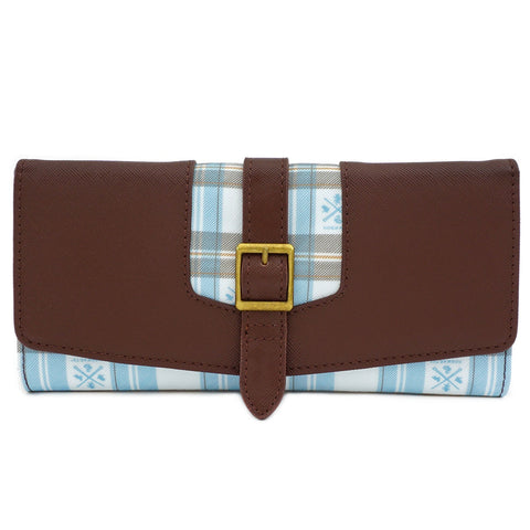 Loungefly x Harry Potter Hogwarts Plaid Flap Wallet