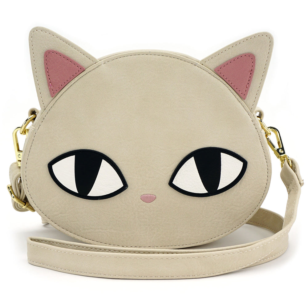 Loungefly Cat Eyes Crossbody Bag-zoom