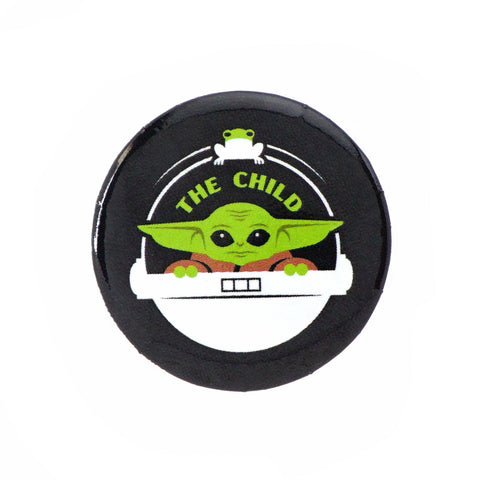 "LOUNGEFLY X STAR WARS THE MANDALORIAN CHILD FROGGY CRADLE 1.25"" BUTTON"