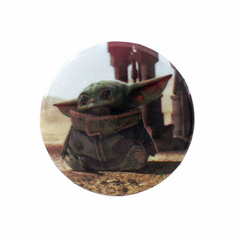 "LOUNGEFLY X STAR WARS THE CHILD PHOTO REAL 1.25"" BUTTON"
