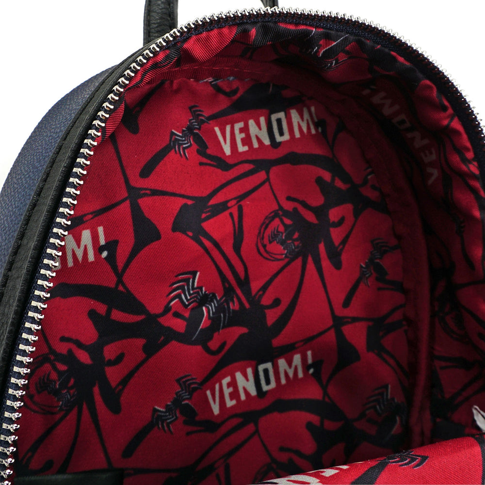 LOUNGEFLY X MARVEL VENOM COSPLAY MINI BACKPACK-zoom