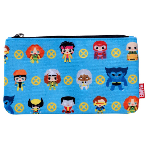 Loungefly x Marvel X-Men Chibi Print Coin/Cosmetic Bag
