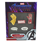 LOUNGEFLY X MARVEL GAUNTLET LIMITED EDITION PIN COLLECTOR SET