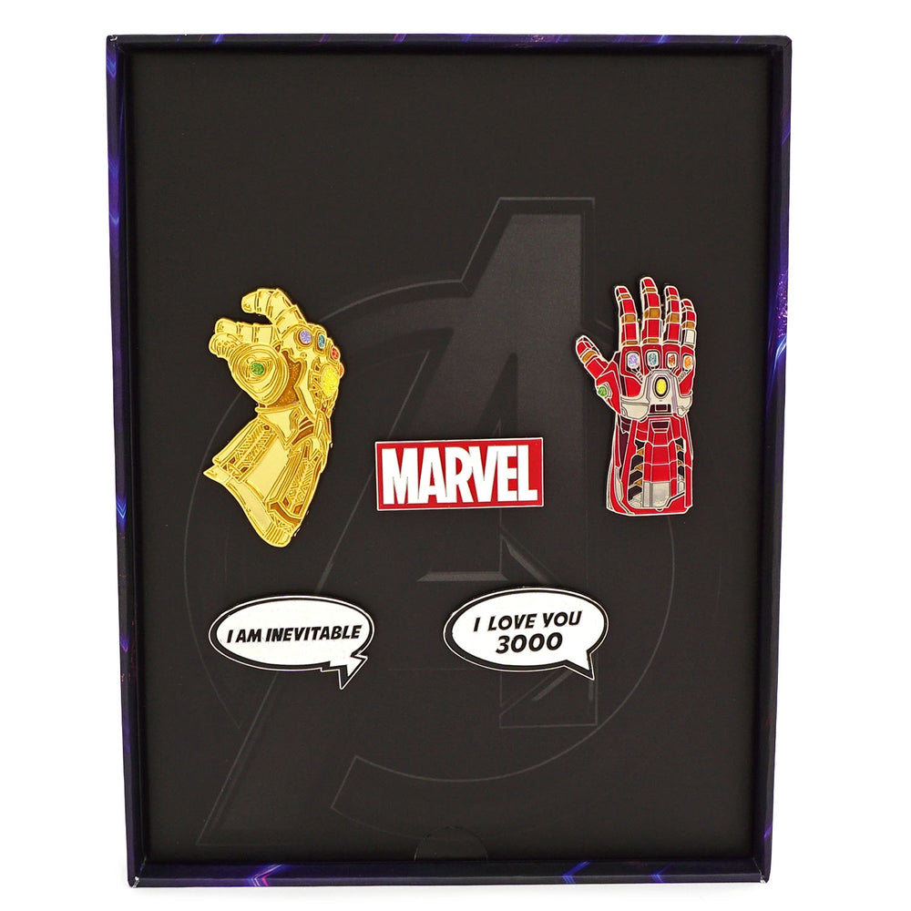 LOUNGEFLY X MARVEL GAUNTLET LIMITED EDITION PIN COLLECTOR SET-zoom