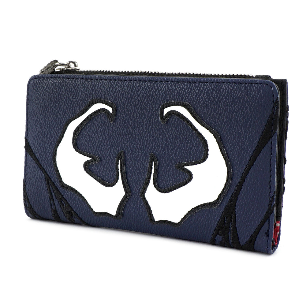 LOUNGEFLY X MARVEL VENOM COSPLAY FLAP WALLET-zoom