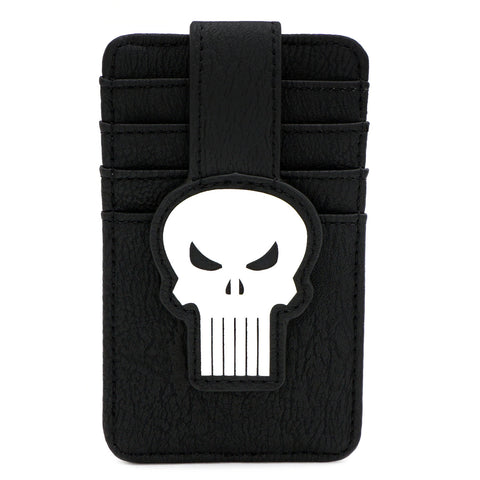LOUNGEFLY X MARVEL PUNISHER SKULL CARD HOLDER
