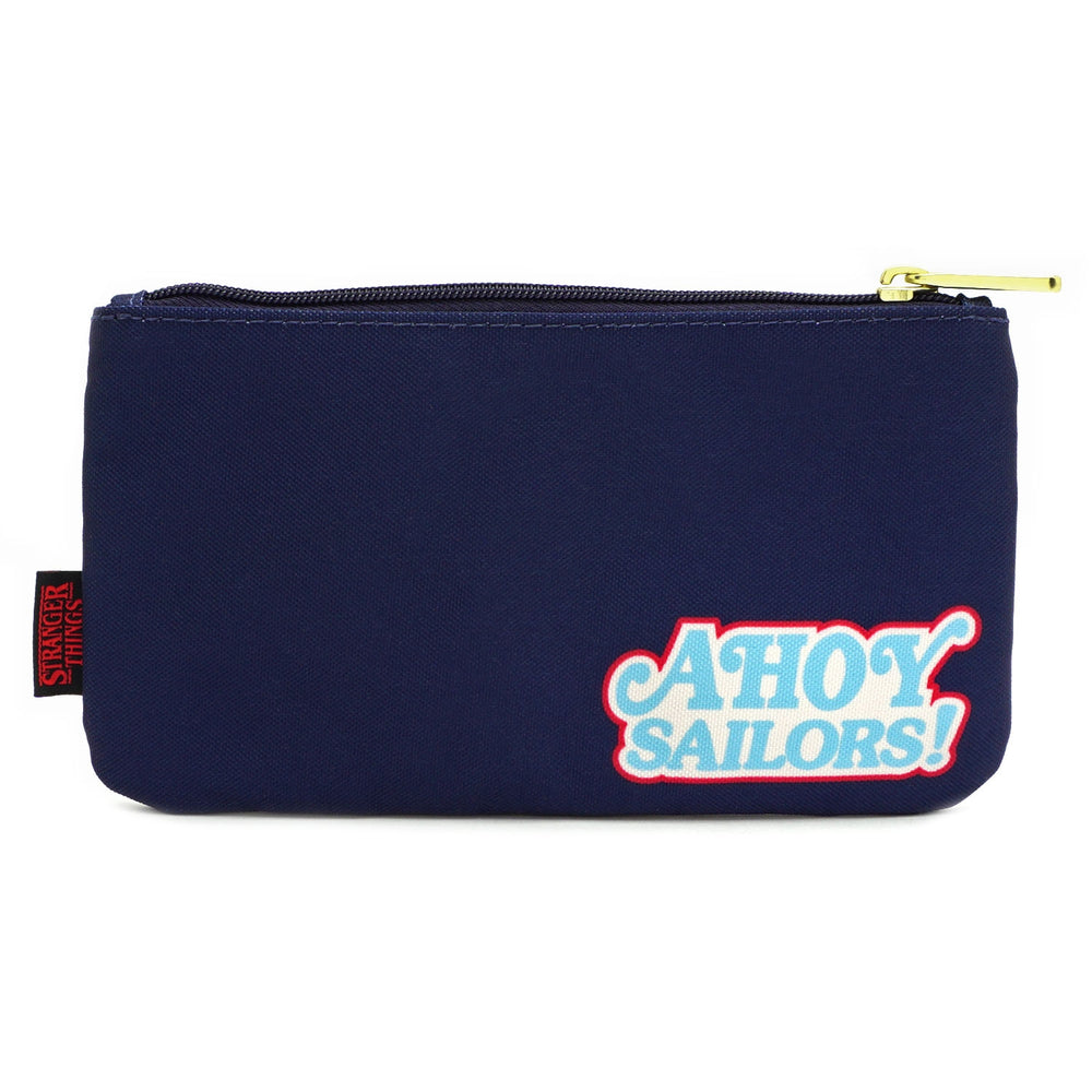 LOUNGEFLY X STRANGER THINGS SCOOPS AHOY NYLON POUCH-zoom