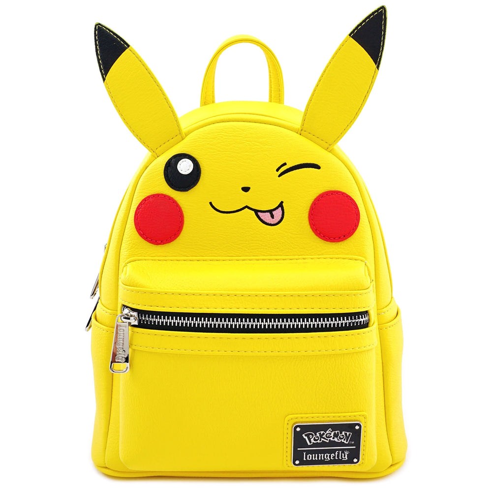 LOUNGEFLY X POKEMON PIKACHU WINK COSPLAY MINI BACKPACK-zoom