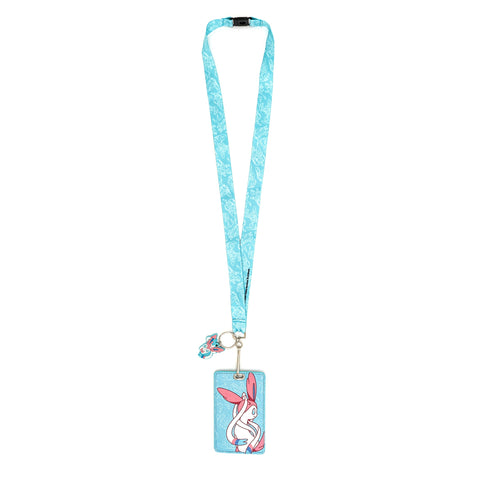 LOUNGEFLY X POKEMON SYLVEON LANYARD CARD HOLDER