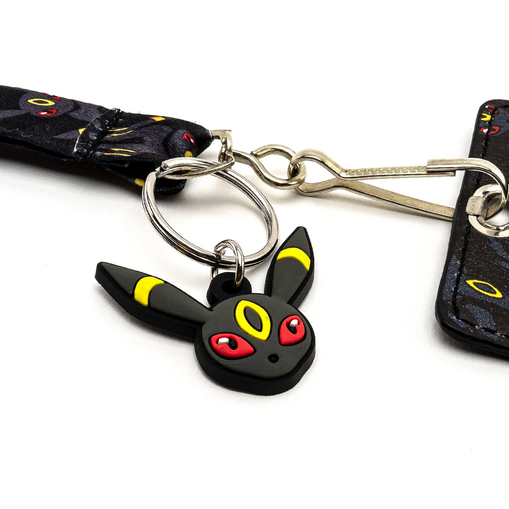 LOUNGEFLY X POKEMON UMBREON LANYARD WITH CARDHOLDER-zoom