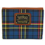 LOUNGEFLY X POKEMON PIKACHU PLAID BI-FOLD WALLET