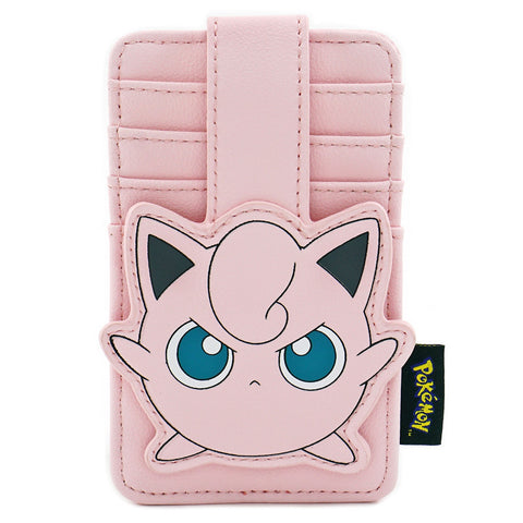 LOUNGEFLY X POKEMON JIGGLY PUFF CARD HOLDER