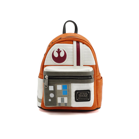 Loungefly x Star Wars Rebel Cosplay Mini Faux Leather Backpack