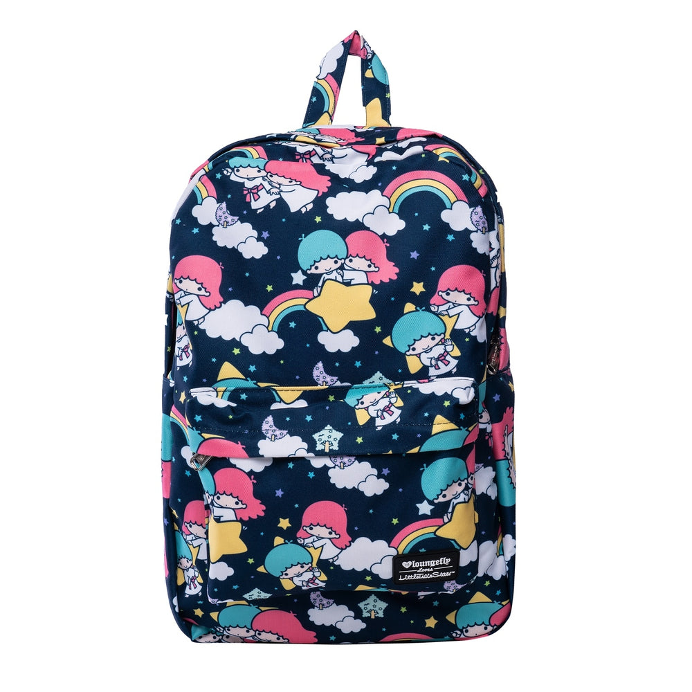 Loungefly x Little Twin Stars Print Backpack-zoom