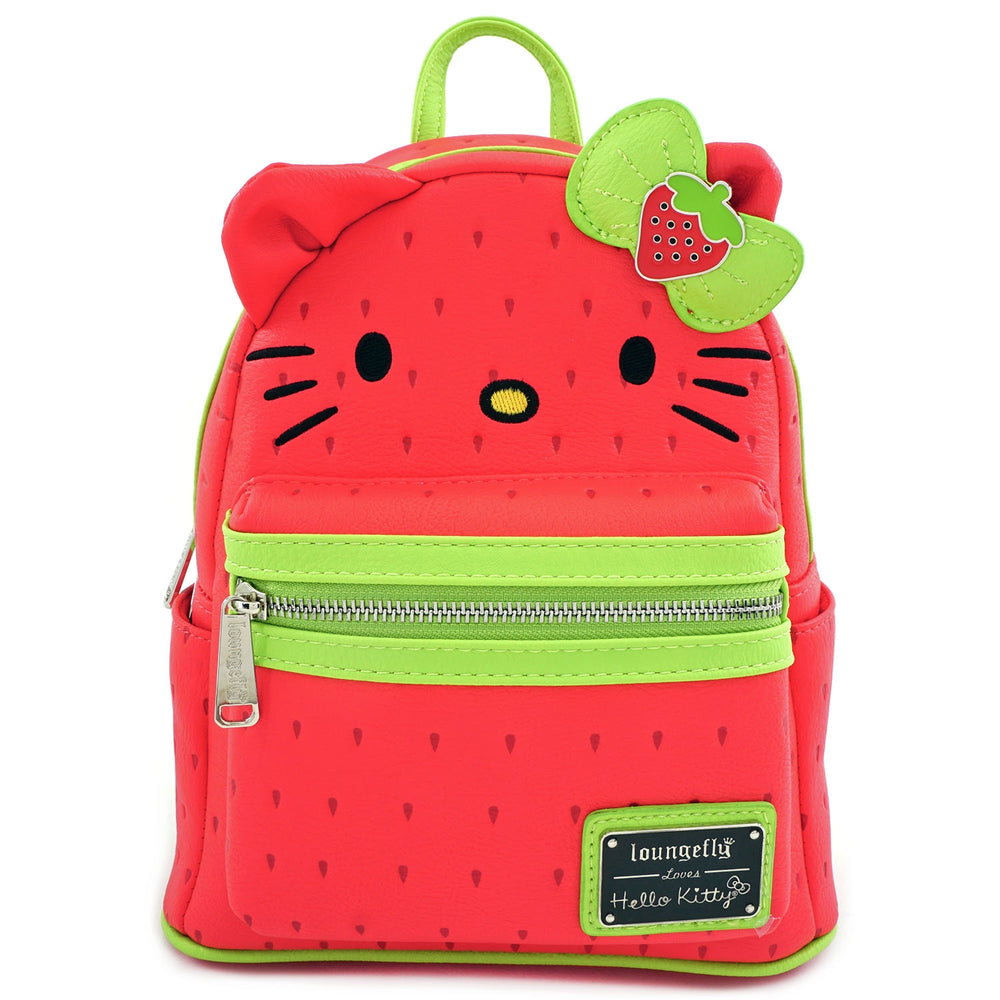 Loungefly x Hello Kitty Strawberry Mini Backpack-zoom