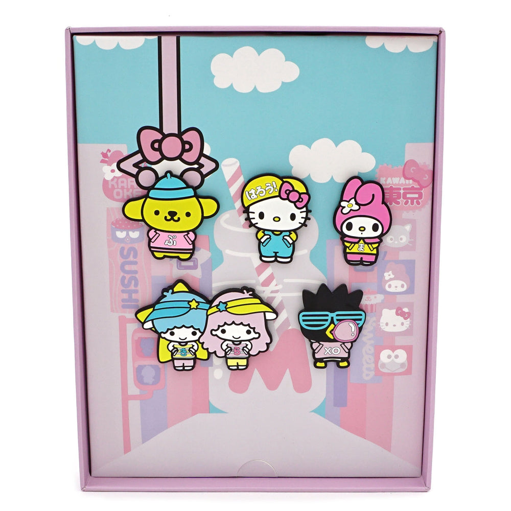 LOUNGEFLY X HELLO KITTY KAWAII LIMITED EDITION PIN COLLECTOR SET-zoom