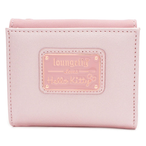 Loungefly x Hello Kitty Metallic Pink Wallet