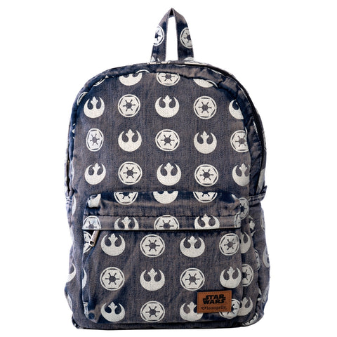Loungefly x Star Wars Imperial Starbird Denim Backpack