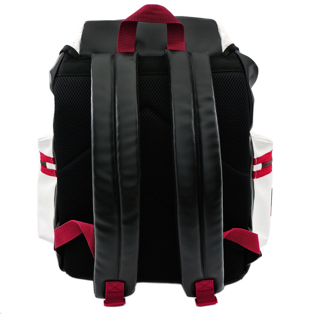 LOUNGEFLY X STAR WARS WHITE TROOPER DEBOSSED BACKPACK-zoom