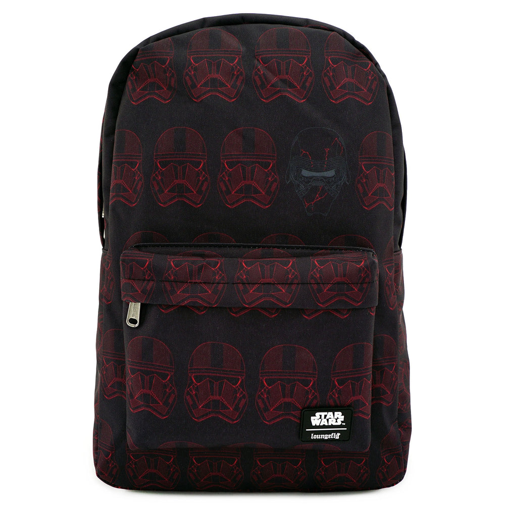 LOUNGEFLY X STAR WARS RED SITH TROOPER NYLON BACKPACK-zoom
