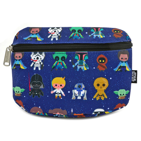 Loungefly x Star Wars CHIBI AOP Fanny Pack