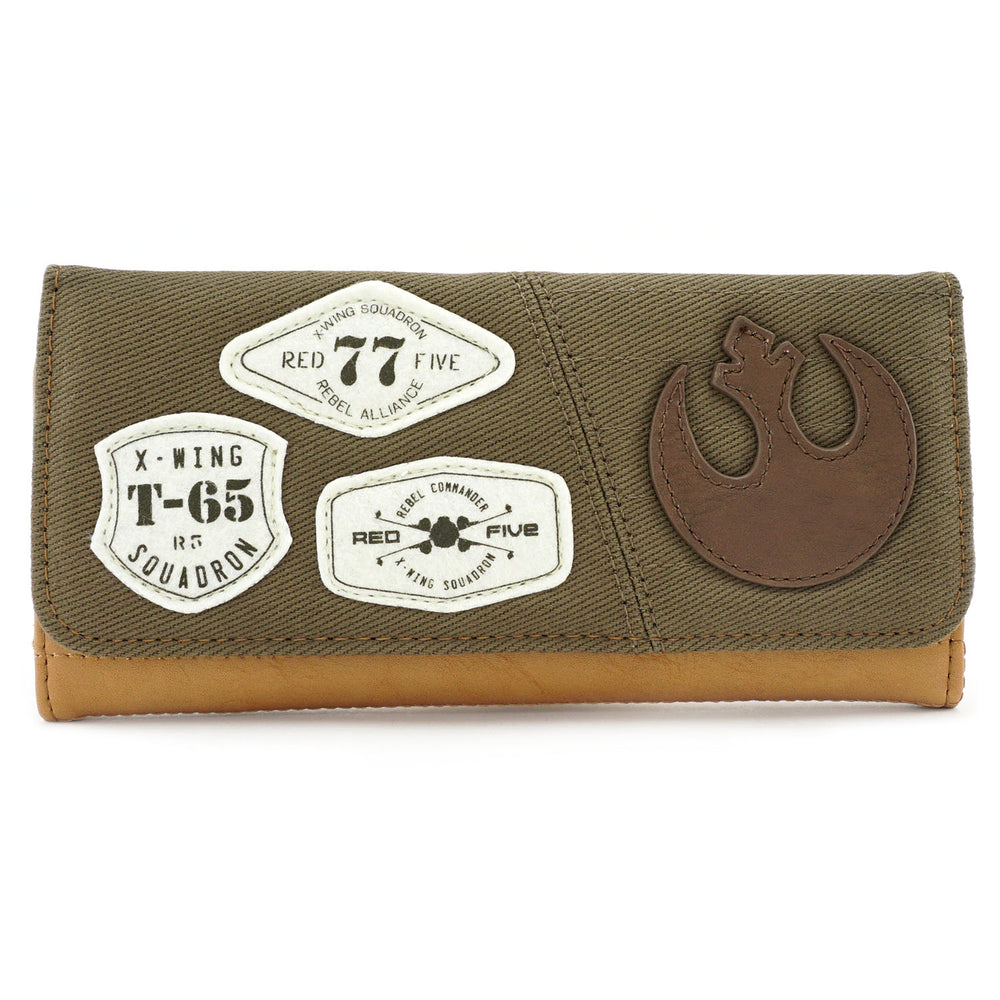 Loungefly x Star Wars Rebel Resistance Wallet-zoom