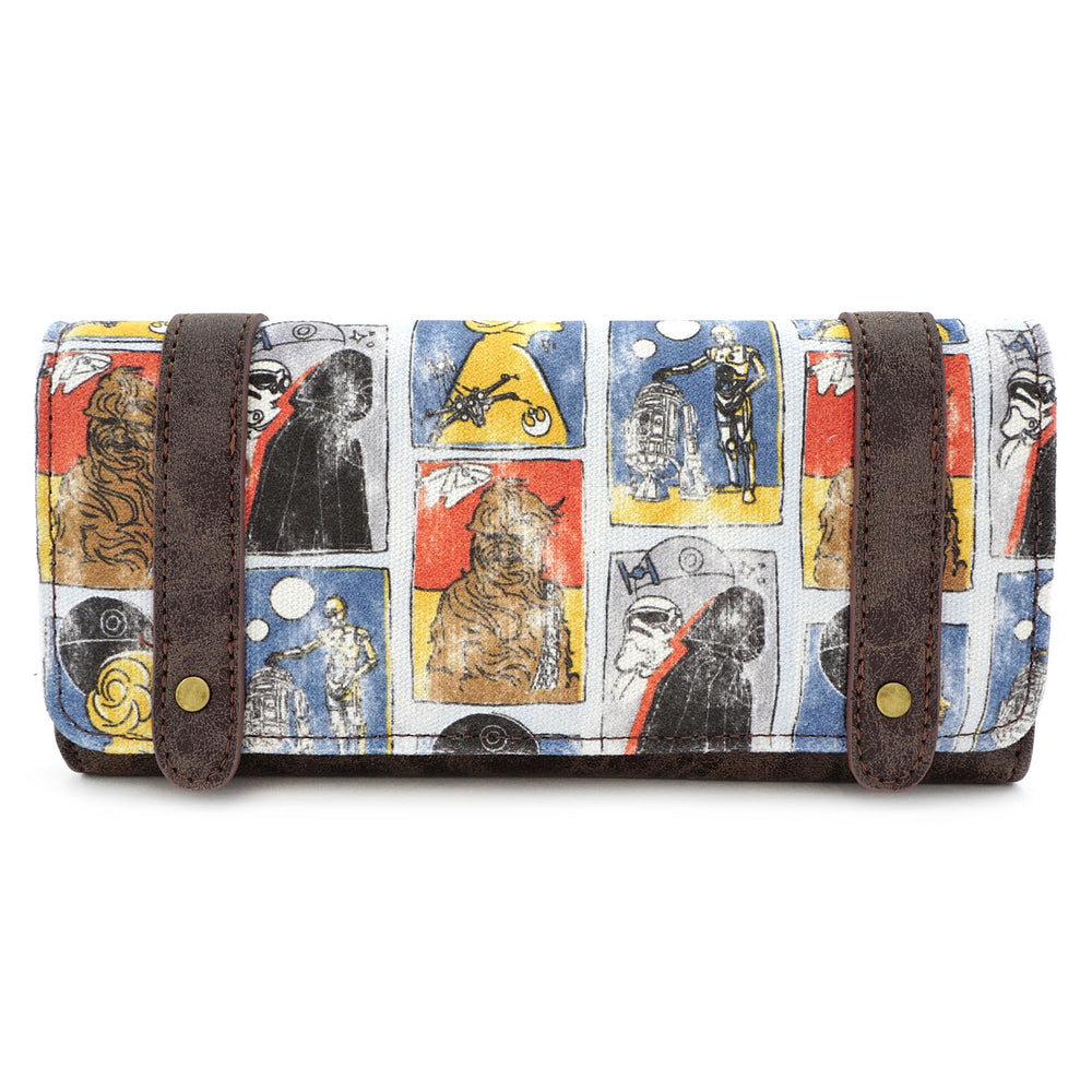 LOUNGEFLY X STAR WARS CARDS WALLET-zoom