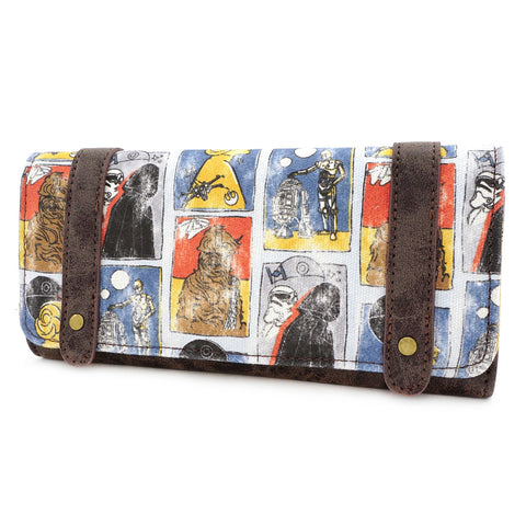 LOUNGEFLY X STAR WARS CARDS WALLET