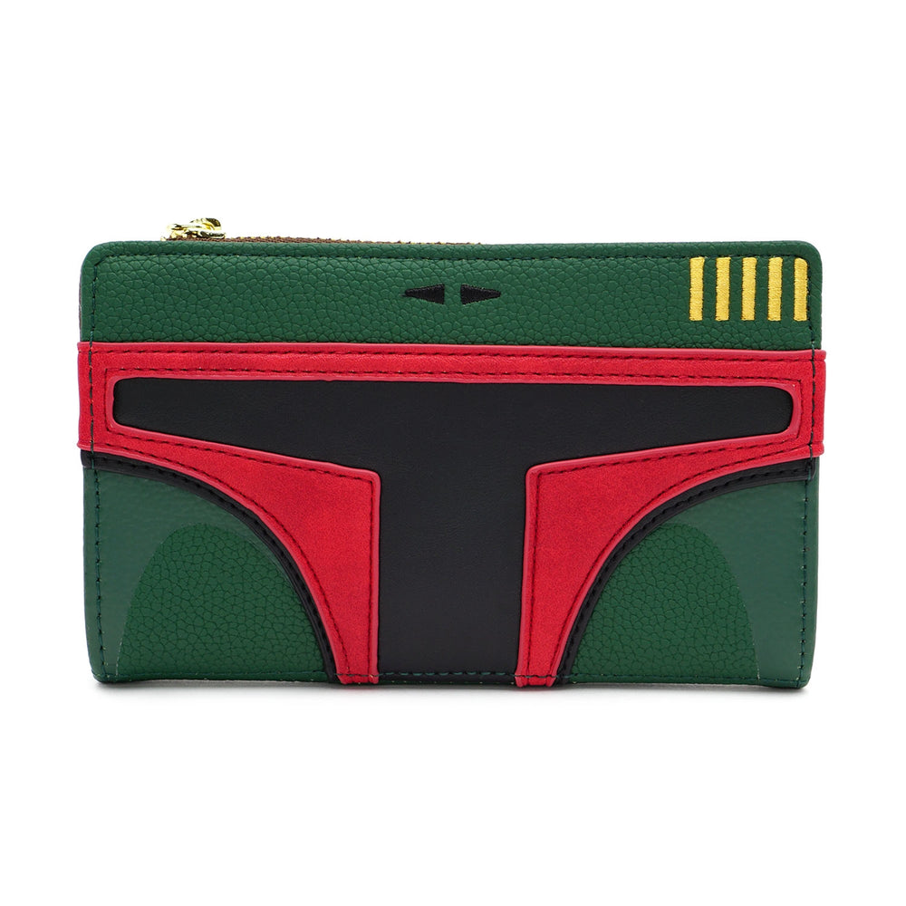 LOUNGEFLY X STAR WARS BOBA FETT COSPLAY WALLET-zoom