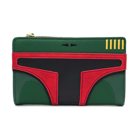 LOUNGEFLY X STAR WARS BOBA FETT COSPLAY WALLET