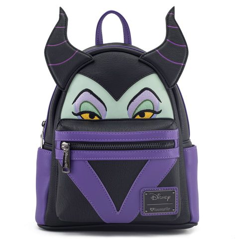 Loungefly x Maleficent Mini Faux Leather Backpack