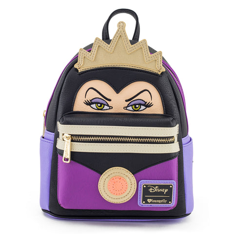 Loungefly x Evil Queen Mini Faux Leather Backpack
