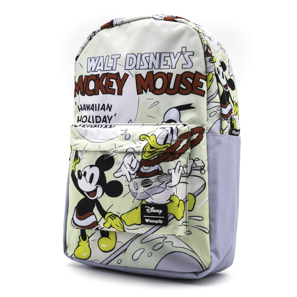 Loungefly x Mickey/Donald Hawaiian Surf Backpack-zoom