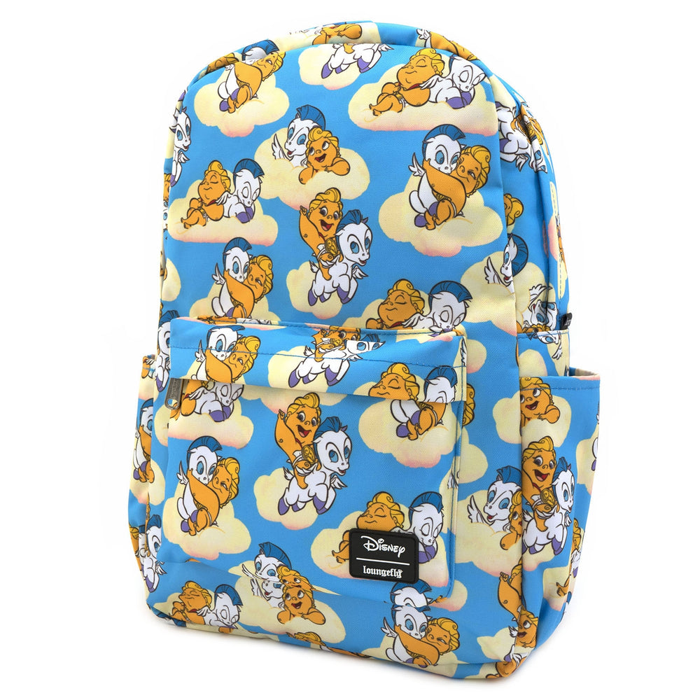 LOUNGEFLY X DISNEY HERCULES BABY HERC AND PEGASUS NYLON BACKPACK-zoom
