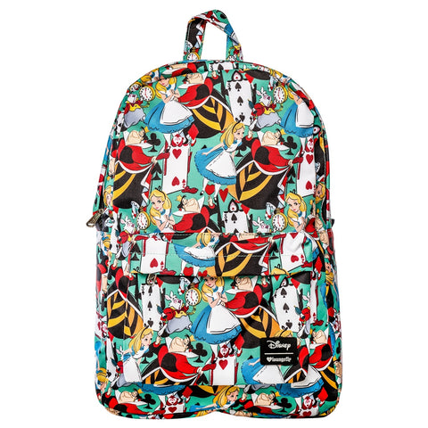 Loungefly x Alice in Wonderland Character Print Backpack