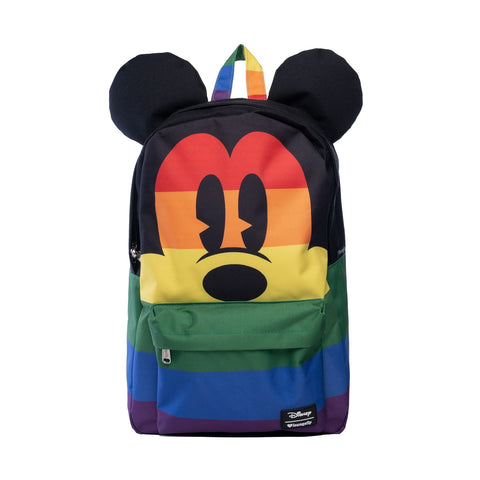 Loungefly x Mickey Rainbow Backpack