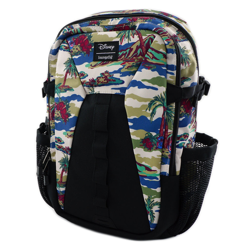 Loungefly x Lilo and Stitch Camo Nylon Backpack-zoom