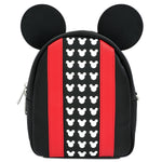 Loungefly x Mickey Black/Red Convertible Backpack