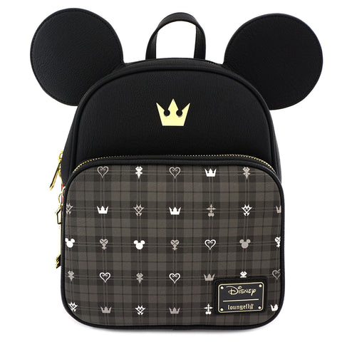 LOUNGEFLY X DISNEY KINGDOM HEARTS MICKEY MINI BACKPACK