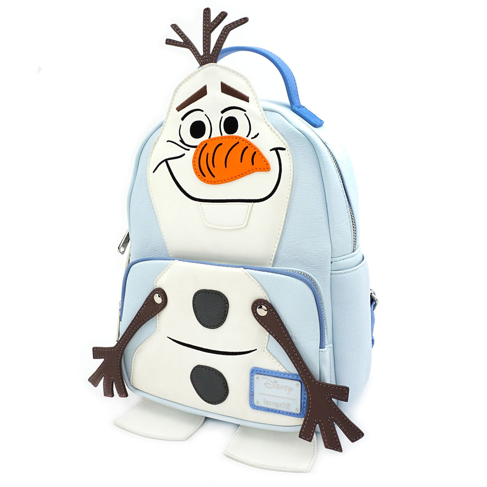 LOUNGEFLY X DISNEY FROZEN OLAF COSPLAY MINI BACKPACK-zoom