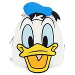 LOUNGEFLY X DISNEY DONALD AND DAISY DOUBLE SIDED MINI BACKPACK